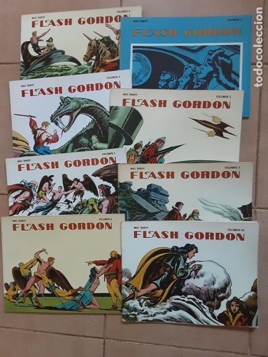 FLASH GORDON, MAC RACOY, EDICIONES B.O. 1978 LOS 8 VOLÚMENES (Tebeos y Comics - Buru-Lan - Flash Gordon)