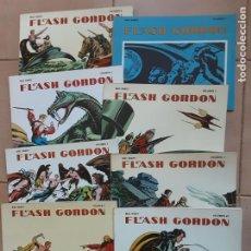 Cómics: FLASH GORDON, MAC RACOY, EDICIONES B.O. 1978 LOS 8 VOLÚMENES. Lote 203976601