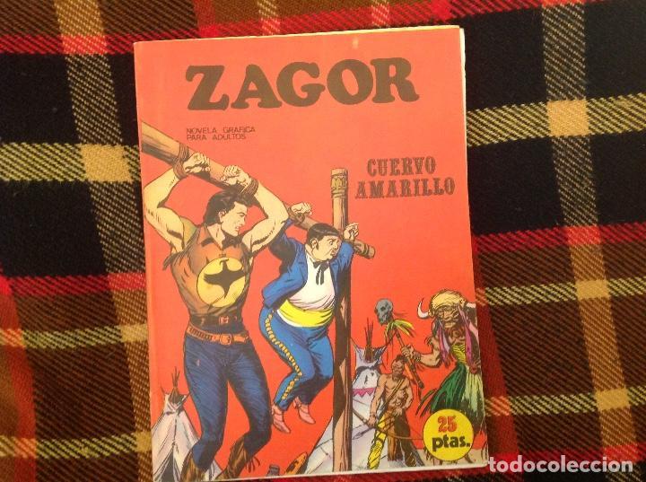 ZAGOR BURU LAN NUMERO 4 (Tebeos y Comics - Buru-Lan - Zagor)