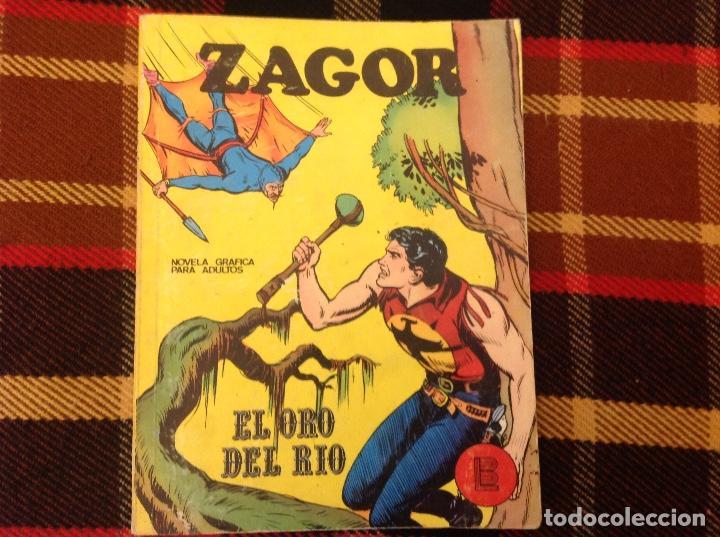 ZAGOR BURU LAN NUMERO 3 (Tebeos y Comics - Buru-Lan - Zagor)