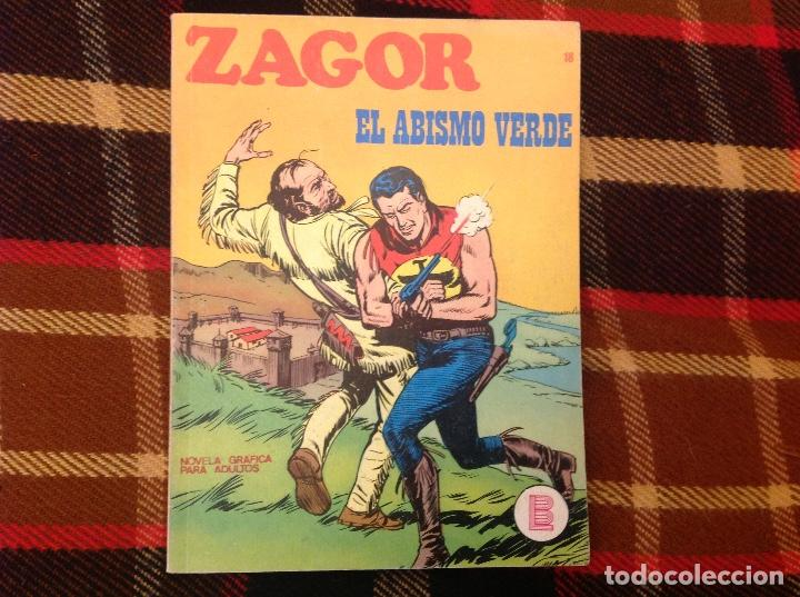 ZAGOR BURU LAN NUMERO 18 (Tebeos y Comics - Buru-Lan - Zagor)