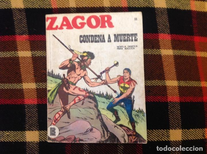 ZAGOR BURU LAN NUMERO 23 (Tebeos y Comics - Buru-Lan - Zagor)