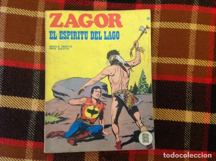ZAGOR BURU LAN NUMERO 29 (Tebeos y Comics - Buru-Lan - Zagor)