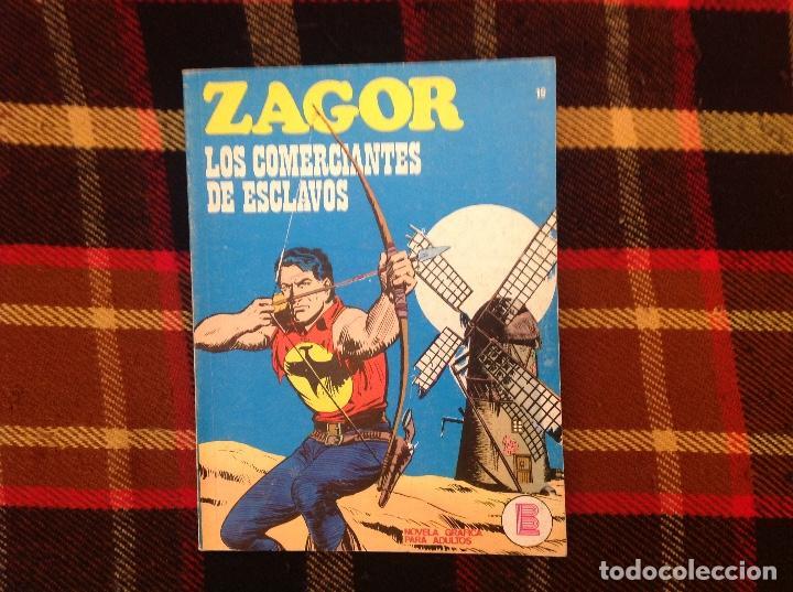 ZAGOR BURU LAN NUMERO 19 (Tebeos y Comics - Buru-Lan - Zagor)