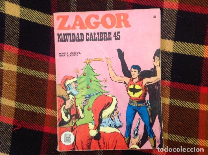 ZAGOR BURU LAN NUMERO 41 (Tebeos y Comics - Buru-Lan - Zagor)