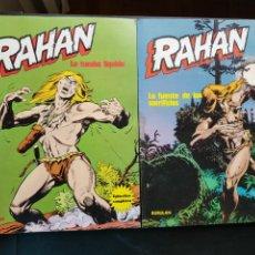 Cómics: LOTE 2 TEBEOS / CÓMIC RAHAN N 3 Y 5 BURU LAN 1974 ORIGINAL. Lote 204529547