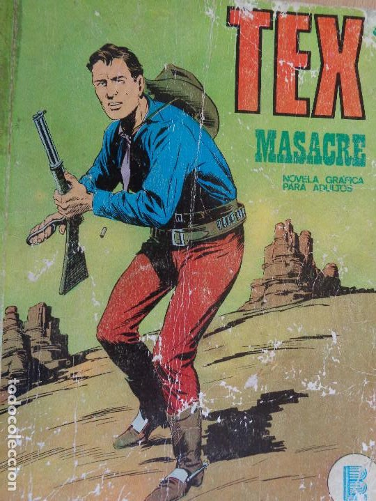 TEX Nº 24. MASACRE. BURU LAN 1971 (Tebeos y Comics - Buru-Lan - Tex)