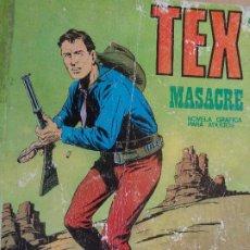 Cómics: TEX Nº 24. MASACRE. BURU LAN 1971. Lote 204551571