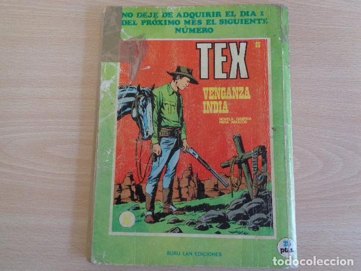 Cómics: Tex Nº 24. Masacre. Buru Lan 1971 - Foto 2 - 204551571