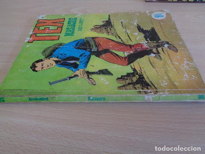 Cómics: Tex Nº 24. Masacre. Buru Lan 1971 - Foto 3 - 204551571