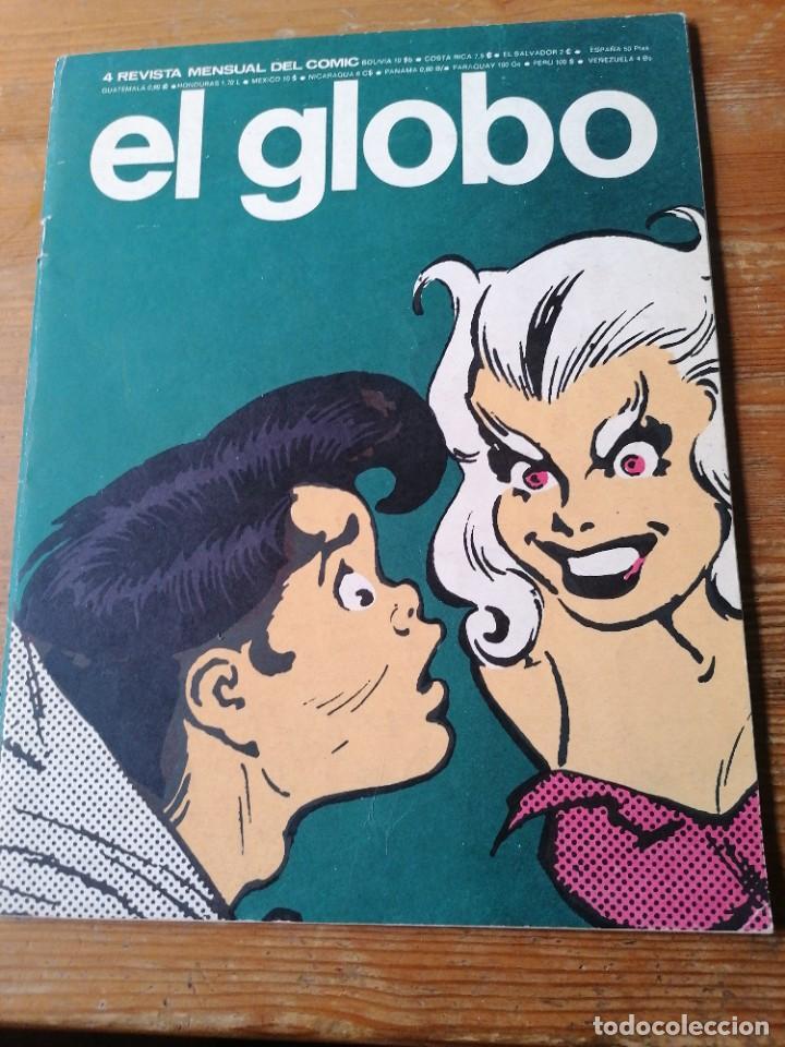 REVISTA EL GLOBO N. 4. (Tebeos y Comics - Buru-Lan - Otros)