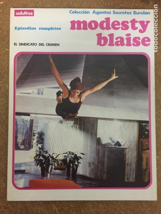 MODESTY BLAISE 2. EL SINDICATO DEL CRIMEN (COL. AGENTES SECRETOS, BURU LAN) (Tebeos y Comics - Buru-Lan - Modesty Blaise)