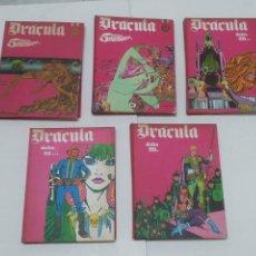 Cómics: DRACULA BURU LAN 5 TOMOS. Lote 205067580