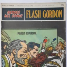 Cómics: HÉROES DEL COMIC. FLASH GORDON. NO. 105 - 1973. Lote 205597212