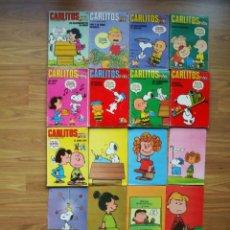 Cómics: LOTE 9 EJEMPLARES CARLITOS + 10 CARTELES (BURU LAN). Lote 205647190