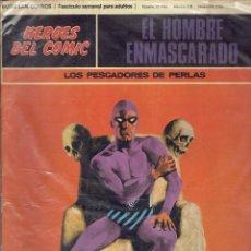 Cómics: HEROES DEL COMIC EL HOMBRE ENMASCARADO N,7 Y 8 BURU LAN COMICS 19 DE MARZO DE 1971. Lote 205778467