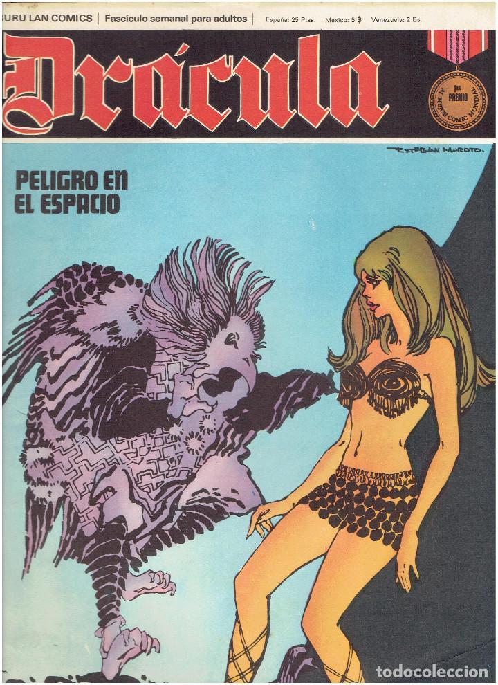 Cómics: * DRACULA * FASCICULOS ED. BURULAN 1970 * LOTE 12Nº * IMPECABLES * - Foto 5 - 205785787