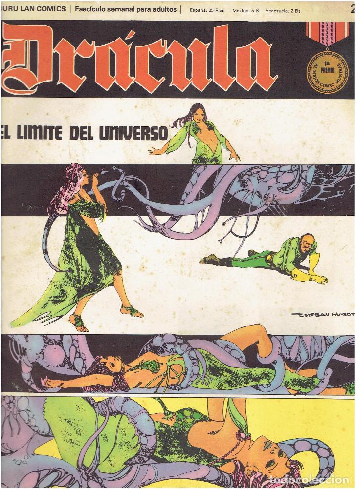 Cómics: * DRACULA * FASCICULOS ED. BURULAN 1970 * LOTE 12Nº * IMPECABLES * - Foto 6 - 205785787