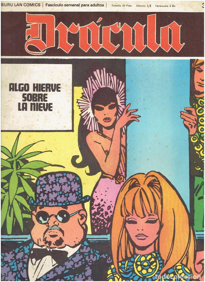 Cómics: * DRACULA * FASCICULOS ED. BURULAN 1970 * LOTE 12Nº * IMPECABLES * - Foto 11 - 205785787