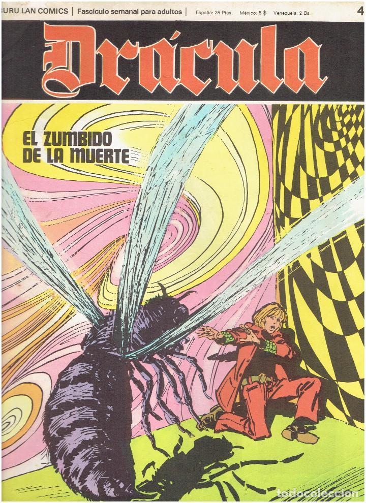 Cómics: * DRACULA * FASCICULOS ED. BURULAN 1970 * LOTE 12Nº * IMPECABLES * - Foto 13 - 205785787