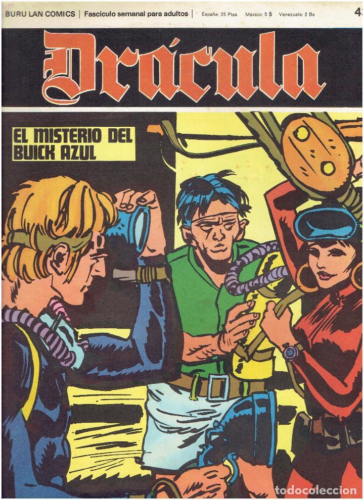 Cómics: * DRACULA * FASCICULOS ED. BURULAN 1970 * LOTE 12Nº * IMPECABLES * - Foto 14 - 205785787