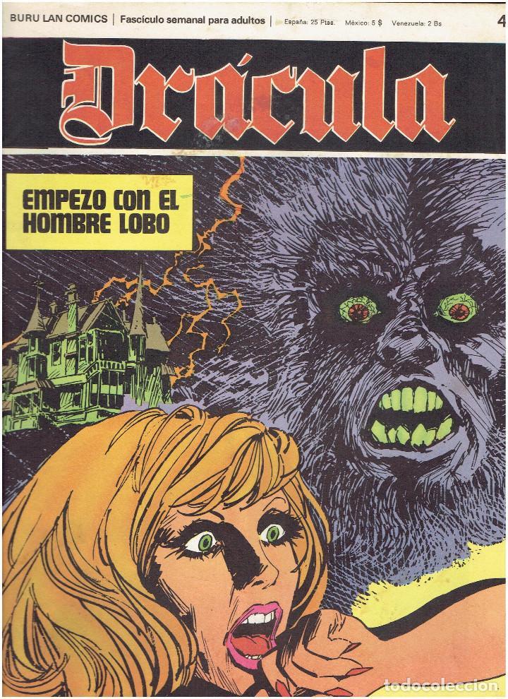 Cómics: * DRACULA * FASCICULOS ED. BURULAN 1970 * LOTE 12Nº * IMPECABLES * - Foto 15 - 205785787