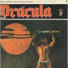Cómics: * DRACULA * FASCICULOS ED. BURULAN 1970 * LOTE 4Nº * IMPECABLES *. Lote 205787227