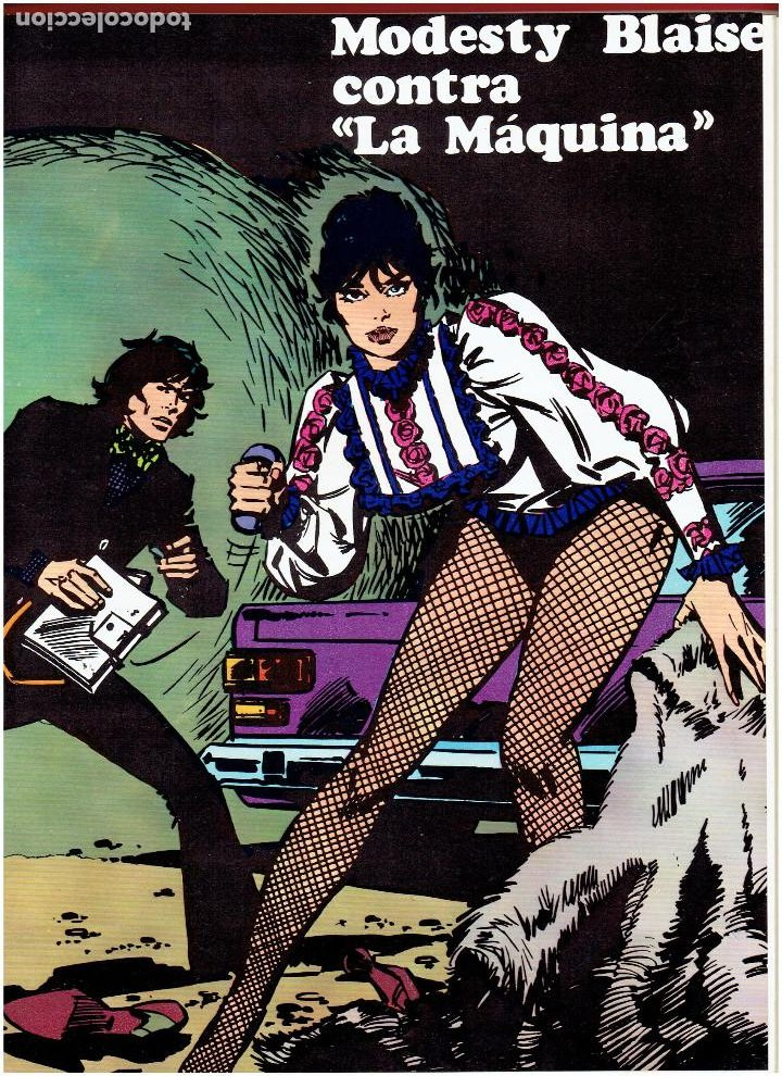 Cómics: * MODESTY BLAISE * TOMO I * EDICIONES BURULAN 1974 * OFERTA * - Foto 3 - 205858422