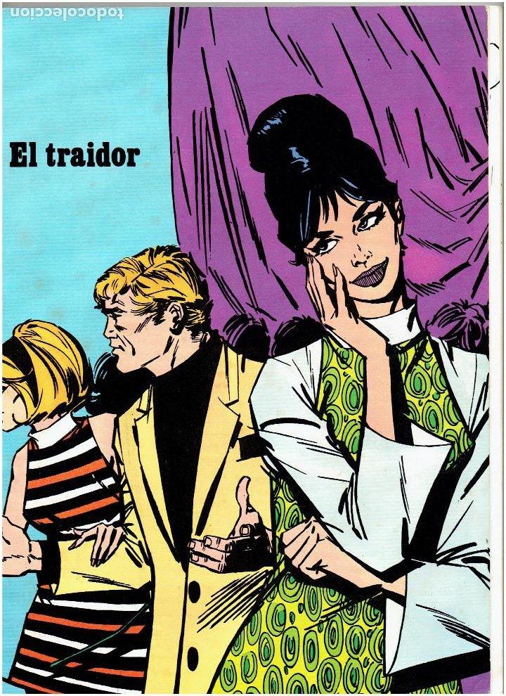 Cómics: * MODESTY BLAISE * TOMO 4 EL TRAIDOR * EDICIONES BURULAN 1974 * EPISODIOS COMPLETOS * - Foto 2 - 205859977