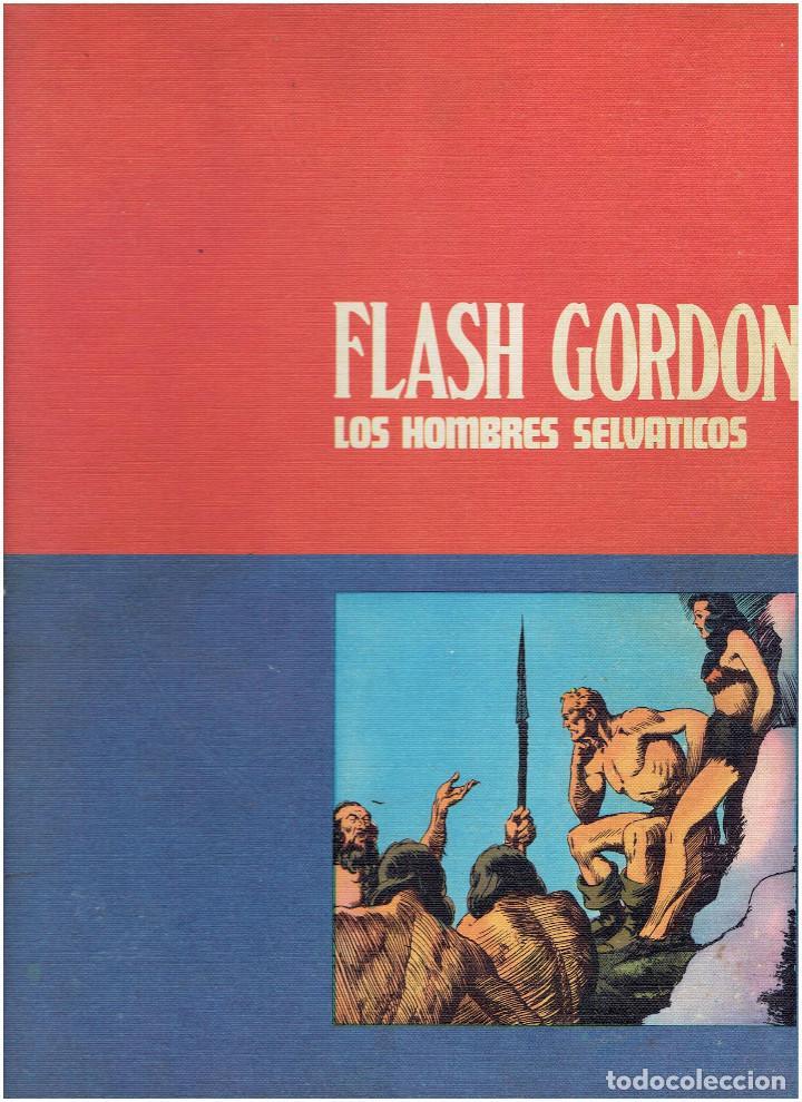 Cómics: * FLASH GORDON * TOMO 02 * LOS HOMBRES SELVATICOS * EDICIONES BURULAN 1972 * - Foto 5 - 205885718