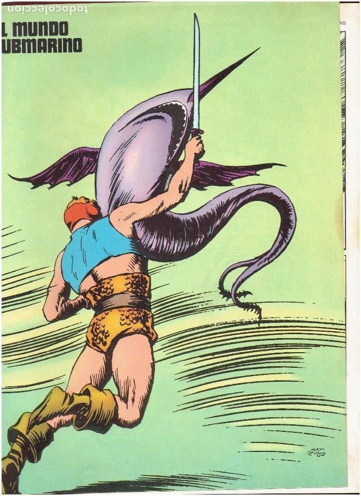 Cómics: * FLASH GORDON * TOMO 02 * LOS HOMBRES SELVATICOS * EDICIONES BURULAN 1972 * - Foto 7 - 205885718
