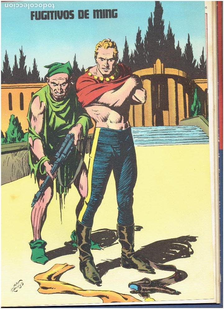 Cómics: * FLASH GORDON * TOMO 02 * LOS HOMBRES SELVATICOS * EDICIONES BURULAN 1972 * - Foto 8 - 205885718