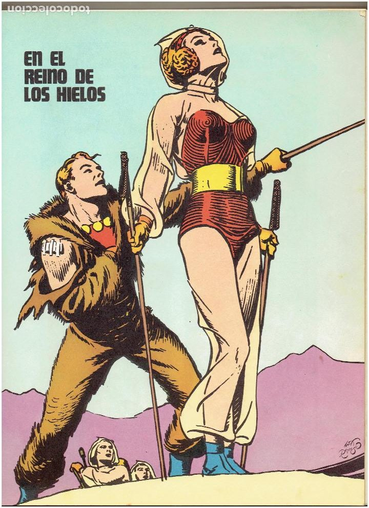 Cómics: * FLASH GORDON * TOMO 1 * HEROES DEL COMIC * EDICIONES BURULAN 1971 * - Foto 8 - 205900517