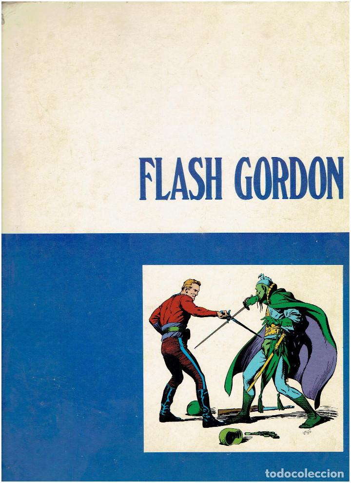 Cómics: * FLASH GORDON * TOMO 1 * HEROES DEL COMIC * EDICIONES BURULAN 1971 * - Foto 5 - 205900517
