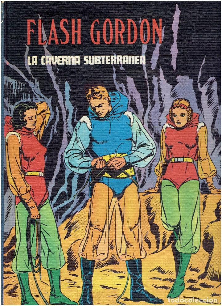 Cómics: * FLASH GORDON * TOMO IV * HEROES DEL COMIC * LA CAVERNA SUBTERRANEA * EDICIONES BURULAN 1972 * - Foto 4 - 205995002