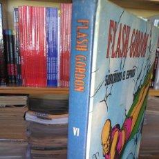 Cómics: * FLASH GORDON * TOMO VI * HEROES DEL COMIC * SURCANDO EL ESPACIO * EDICIONES BURULAN 1972 *. Lote 206116542