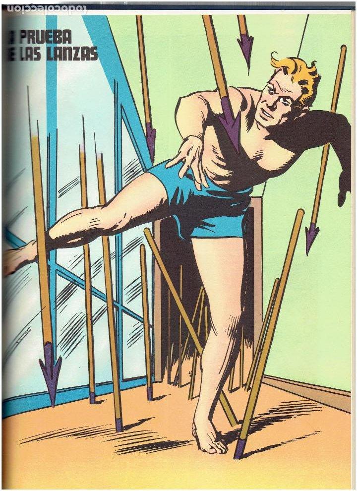 Cómics: * FLASH GORDON * TOMO VI * HEROES DEL COMIC * SURCANDO EL ESPACIO * EDICIONES BURULAN 1972 * - Foto 8 - 206116542