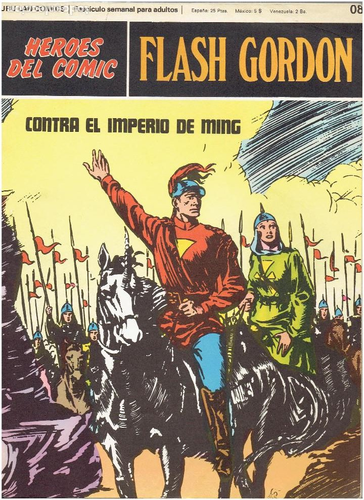 Cómics: * FLASH GORDON * TOMO 3 * HEROES DEL COMIC * RETAPADO EDITORIAL 6 Nº * EDICIONES BURULAN 1972 * - Foto 4 - 206120877