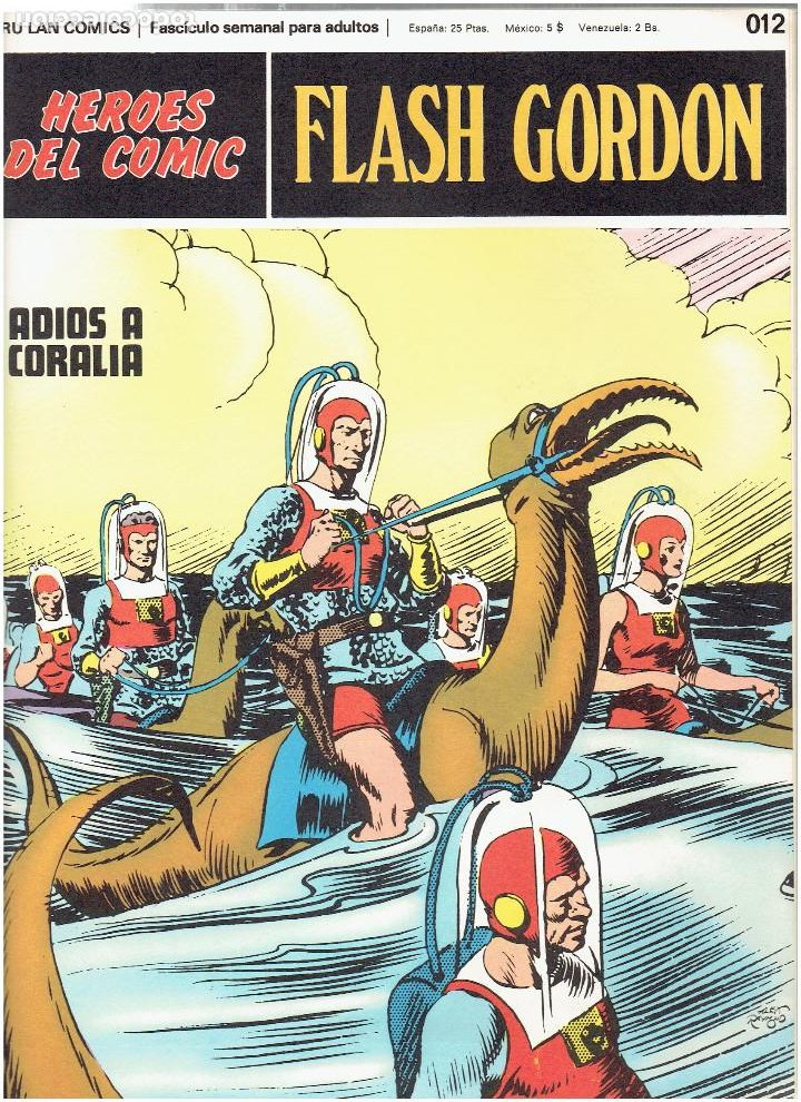 Cómics: * FLASH GORDON * TOMO 3 * HEROES DEL COMIC * RETAPADO EDITORIAL 6 Nº * EDICIONES BURULAN 1972 * - Foto 5 - 206120877