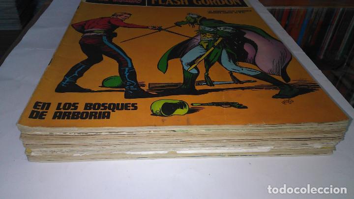 * FLASH GORDON * HEROES DEL COMIC * EDICIONES BURULAN 1971 * LOTE FASCICULOS 12 Nº OFERTA * (Tebeos y Comics - Buru-Lan - Flash Gordon)
