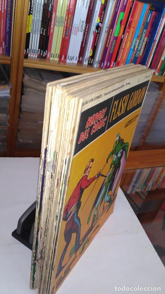 Cómics: * FLASH GORDON * HEROES DEL COMIC * EDICIONES BURULAN 1971 * LOTE FASCICULOS 12 Nº OFERTA * - Foto 3 - 206126503