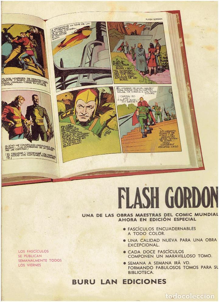 Cómics: * FLASH GORDON * HEROES DEL COMIC * EDICIONES BURULAN 1971 * LOTE FASCICULOS 12 Nº OFERTA * - Foto 5 - 206126503