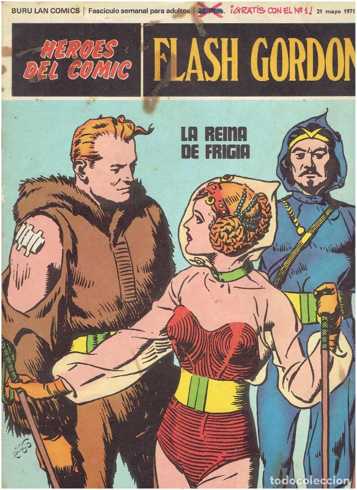Cómics: * FLASH GORDON * HEROES DEL COMIC * EDICIONES BURULAN 1971 * LOTE FASCICULOS 12 Nº OFERTA * - Foto 6 - 206126503