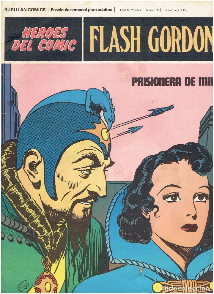 Cómics: * FLASH GORDON * HEROES DEL COMIC * EDICIONES BURULAN 1971 * LOTE FASCICULOS 12 Nº OFERTA * - Foto 7 - 206126503