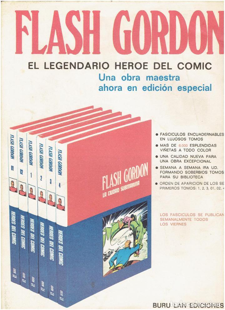 Cómics: * FLASH GORDON * HEROES DEL COMIC * EDICIONES BURULAN 1971 * LOTE FASCICULOS 12 Nº OFERTA * - Foto 8 - 206126503