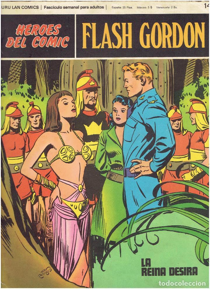 Cómics: * FLASH GORDON * HEROES DEL COMIC * EDICIONES BURULAN 1971 * LOTE FASCICULOS 12 Nº OFERTA * - Foto 9 - 206126503