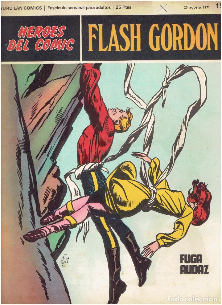 Cómics: * FLASH GORDON * HEROES DEL COMIC * EDICIONES BURULAN 1971 * LOTE FASCICULOS 12 Nº OFERTA * - Foto 10 - 206126503
