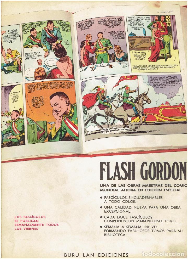 Cómics: * FLASH GORDON * HEROES DEL COMIC * EDICIONES BURULAN 1971 * LOTE FASCICULOS 12 Nº OFERTA * - Foto 11 - 206126503