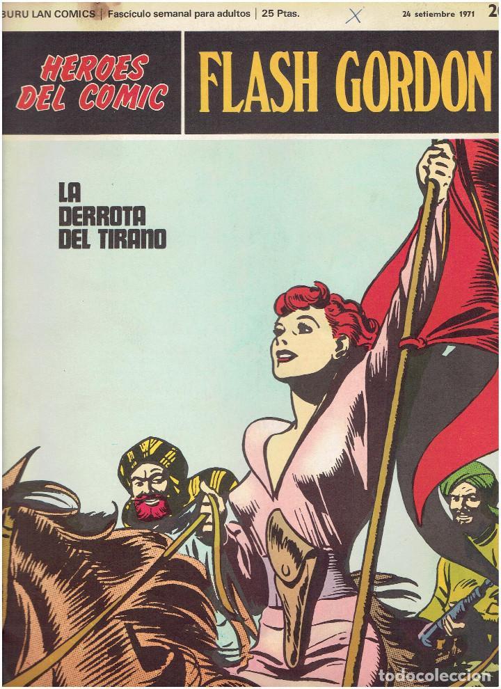 Cómics: * FLASH GORDON * HEROES DEL COMIC * EDICIONES BURULAN 1971 * LOTE FASCICULOS 12 Nº OFERTA * - Foto 12 - 206126503