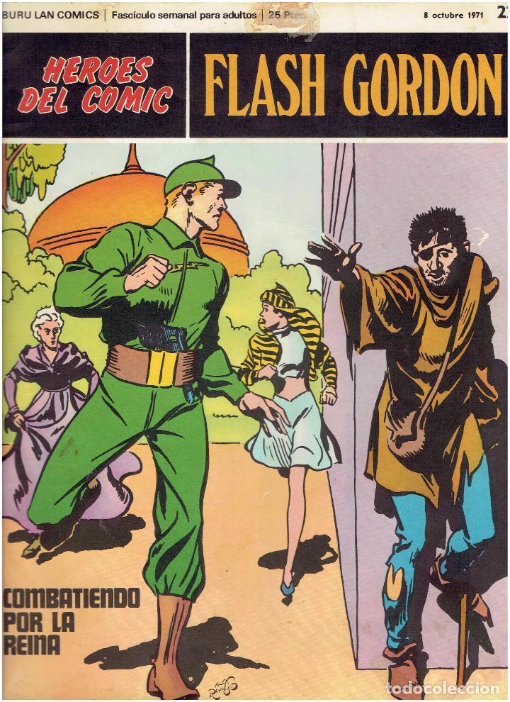 Cómics: * FLASH GORDON * HEROES DEL COMIC * EDICIONES BURULAN 1971 * LOTE FASCICULOS 12 Nº OFERTA * - Foto 13 - 206126503